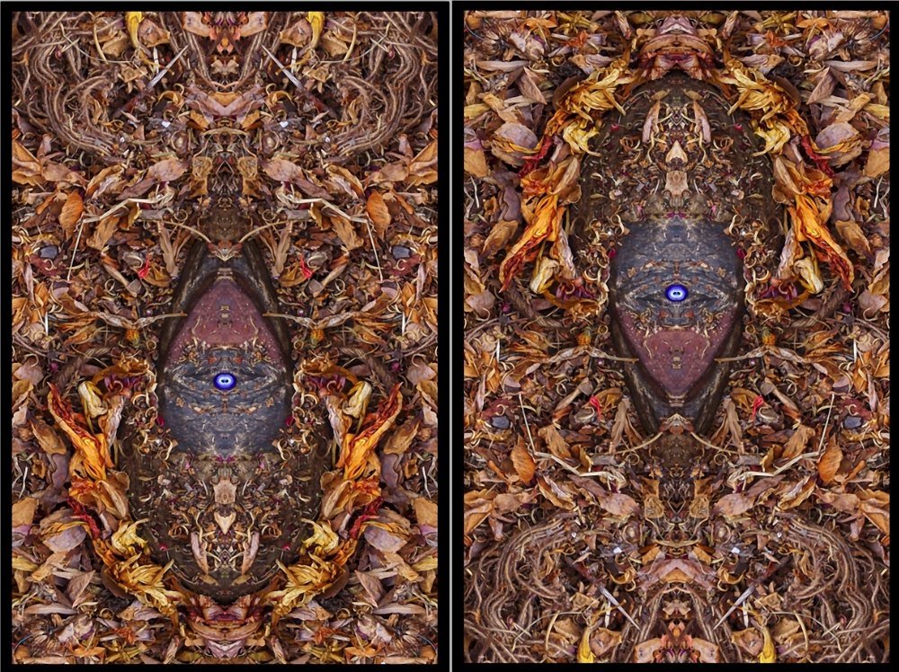 African Alchemy II. (double panel)