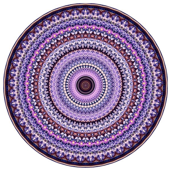 LIlac Mandala - stephen calhoun