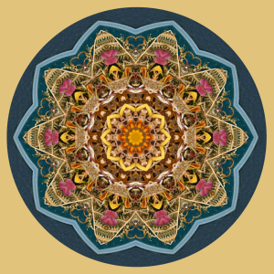 mandala created by Stephen Calhoun, Cleveland artist, photographer