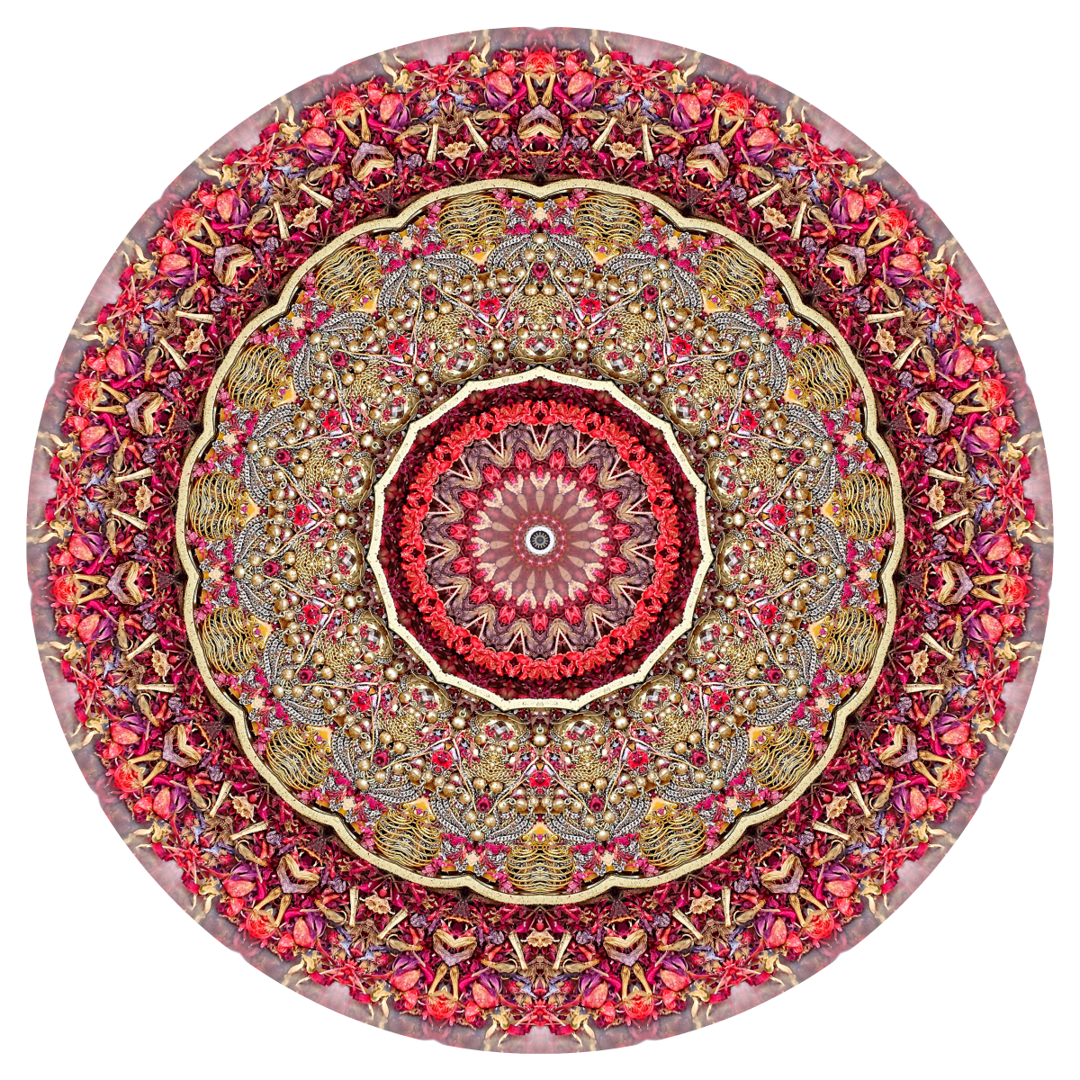 Red Mandala #1 - Stephen Calhoun