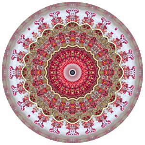Red Mandala #2 - Stephen Calhoun