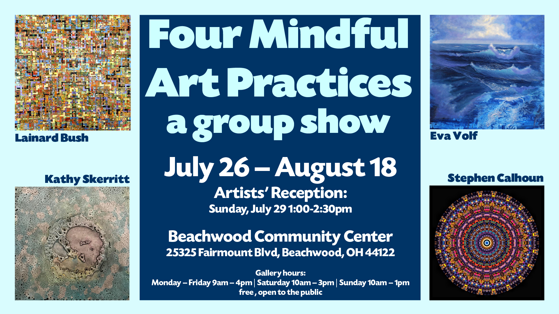 Four Mindful Art Practices