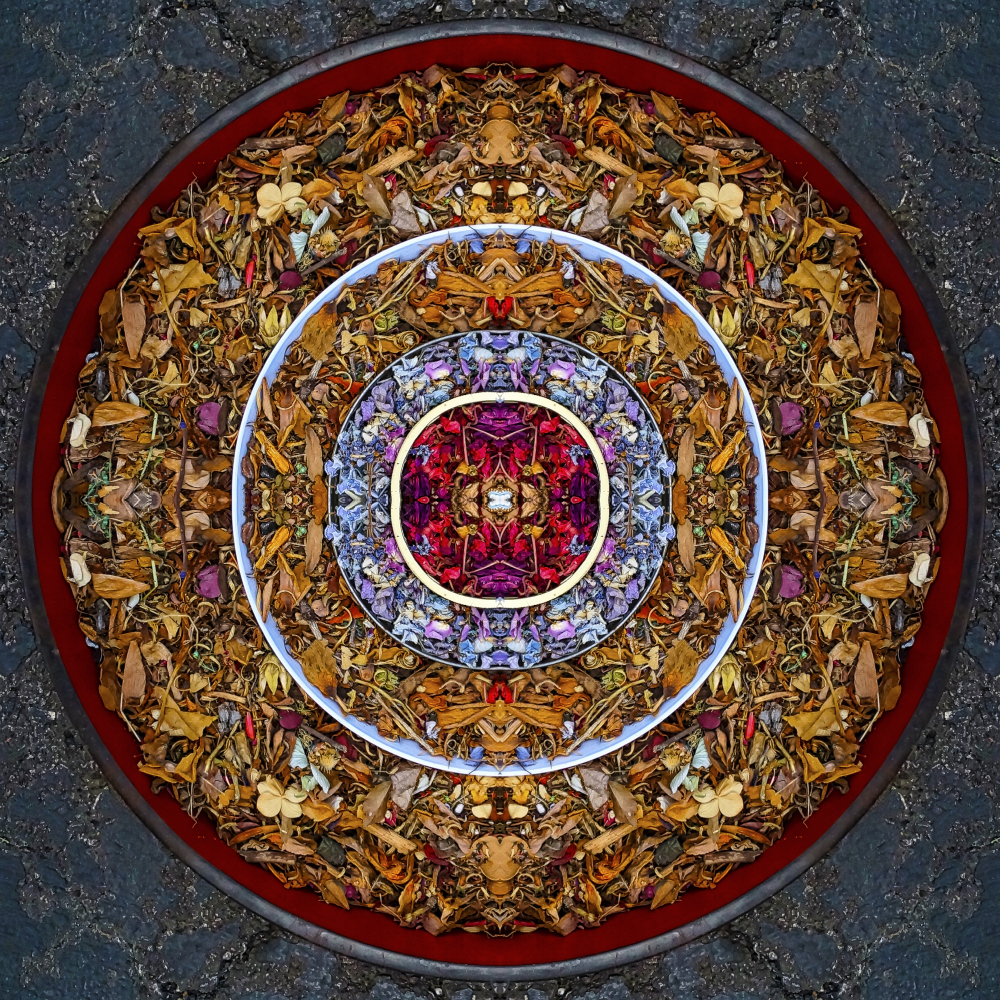 Circular hexagram - Stephen Calhoun