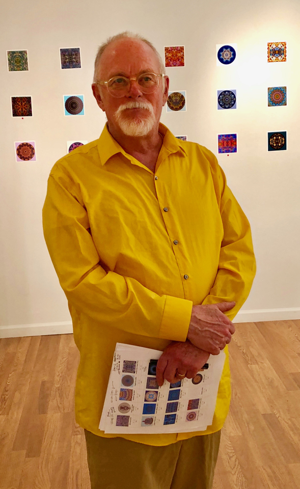 Cleveland artist Stephen Calhoun