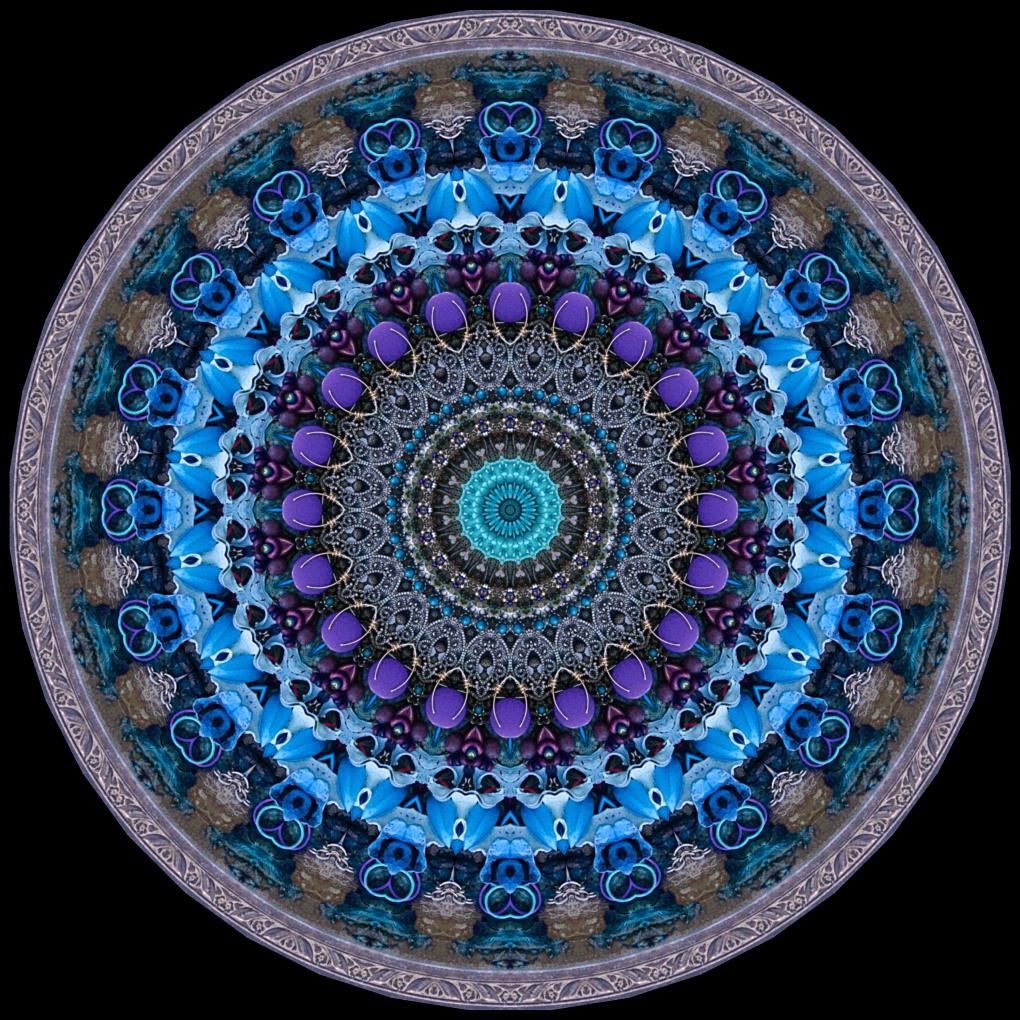 Blue Hour Circle 9 degree (2020) Stephen Calhoun